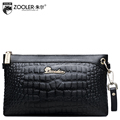 ZOOLER Genuine Leather Women s Bag Designer High Quality Clutch Fashion Women Leather Handbags Alligator Shoulder