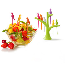 Kitchen accessories Cooking Gadgets Fruit Vegetable tools eco fashion fork set  new hot sale sign special offer(China (Mainland))