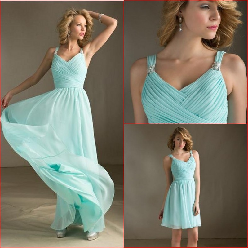 Light Aqua Blue Bridesmaid Dresses - Wedding Dress Ideas