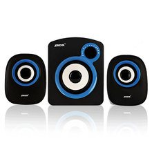 High Performance multimedia bass audio computer speakers usb 2.1 system with subwoofer Speaker for desktop laptop(China (Mainland))