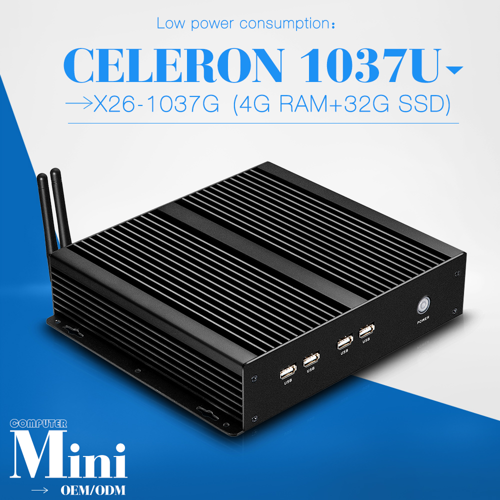 hot selling smallest computer cheap mini pc C1037U latest mini computer desktop computer laptop thin client(China (Mainland))
