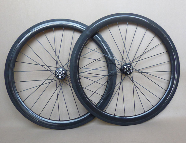 50mm Road Disc Carbon Wheels Clincher Cyclocross Wheelset(China (Mainland))