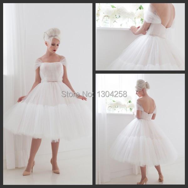 Tea length tulle skirt lookup beforebuying for Tea length wedding dress tulle skirt