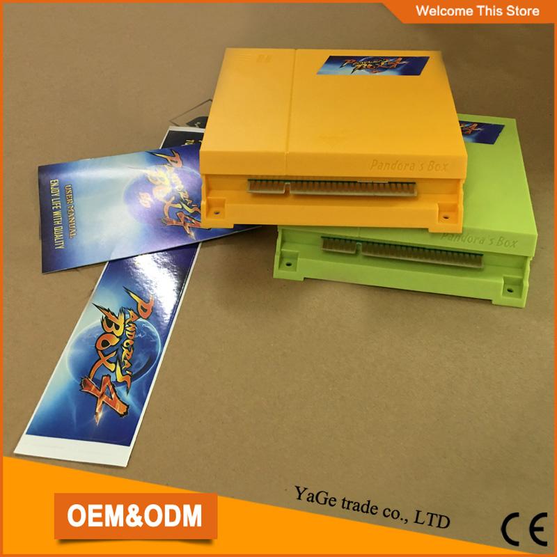 Pandora Box 4  645 in 1 jamma multi game PCB /multi game board for CRT/CGA arcade cabinet<br><br>Aliexpress