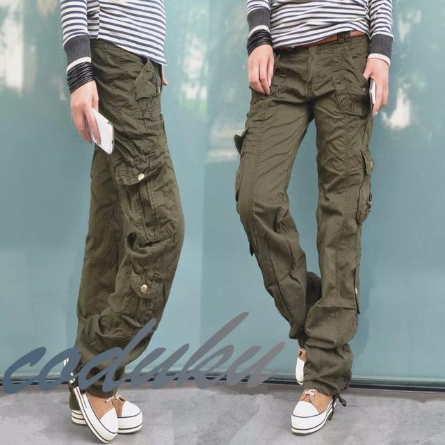 Luxury Camo Cargo Pants Hiker Pants Womens Hiking Pants Baggy Cargo Pants
