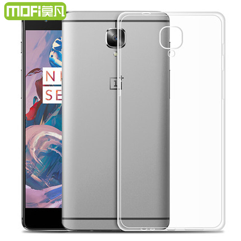 oneplus 3 case thin silicon cover mofi original one plus 3 three back cover tpu soft fundas. Black Bedroom Furniture Sets. Home Design Ideas