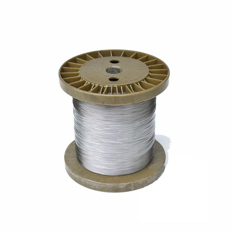 100m/lot 0.50mm High Quality 304 Stainless Steel Wire Rope Wick SS Cable Wick DIY 7x7 Strand Core NON GALVANIZED(China (Mainland))
