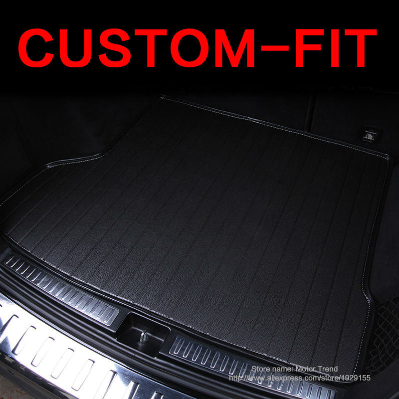 Custom fit car trunk mat for Audi A1 A3 A4 A6 A7 A8 Q3 Q5 TT 3D car-styling heavy duty all weather tray carpet cargo liner<br><br>Aliexpress