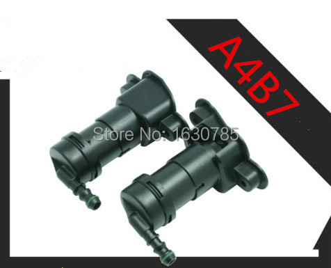 Pair  Left and Right  Headlight Washer Sprayer Nozzle  For  Audi A4 S4 B7 8E0 955 101 D+8E0 955 102D<br><br>Aliexpress