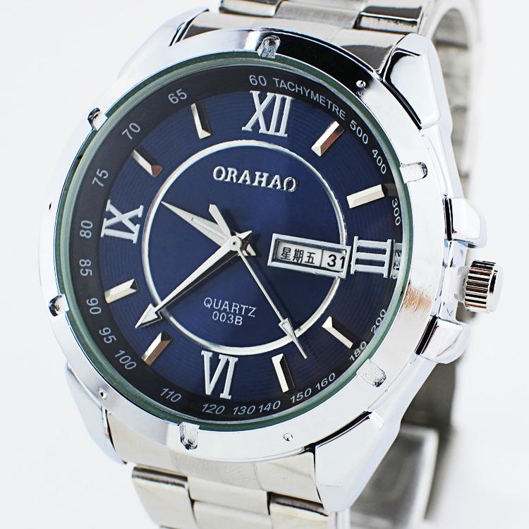 Simple and elegant Rome digital calendar double waterproof steel watch manufacturers spot wholesale<br><br>Aliexpress