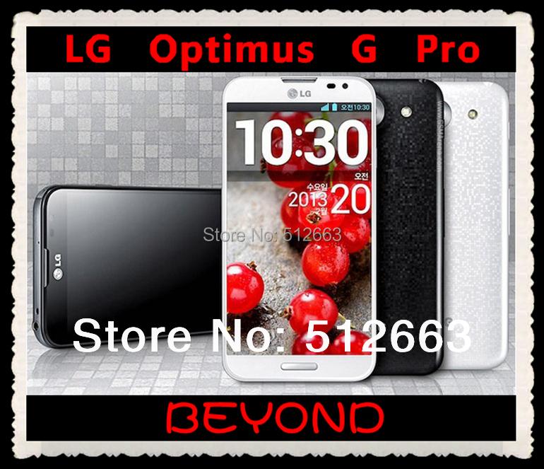 "E980 LG Optimus G Pro Original Unlocked GSM 3G&4G AT&T Android Quad-core RAM 2GB 5.5"" 13MP 32GB WIFI GPS Mobile Phone(China (Mainland))"