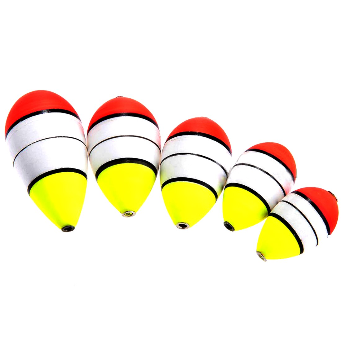 2016 hot sale high quality 5pcs foam fishing floats for Fishing bobbers for sale