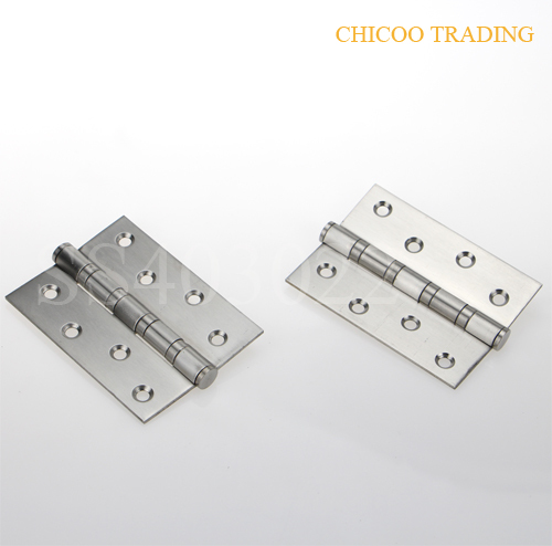 2Pcs Stainless steel 4INCH door Hinge -Satin stainless steel(China (Mainland))