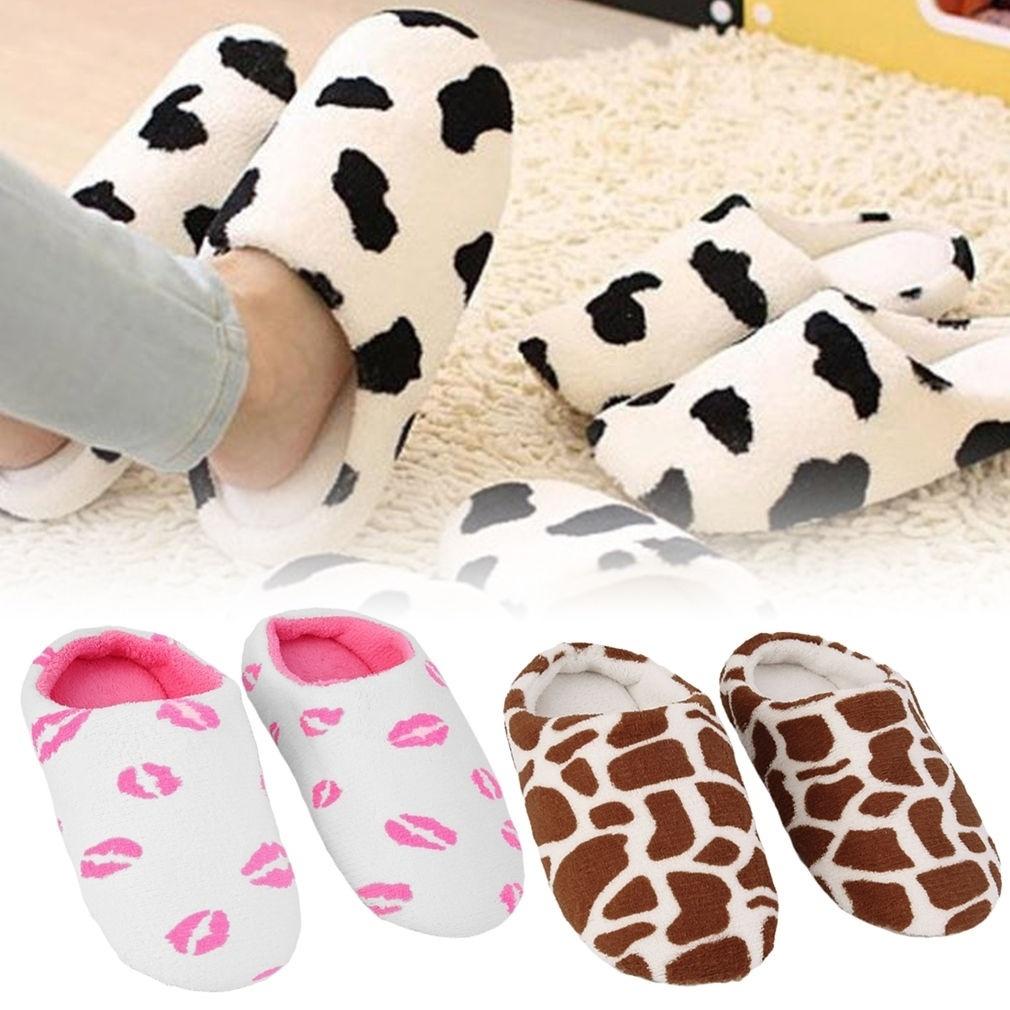 Woopower/женские и мужские тапочки; теплая зимняя плюшевая домашняя мягкая обувь aeProduct.getSubject()
