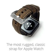 42MM Apple Watch Band Genuine Leather Watchbands ,Smart Watchband-Classical Series for Apple Watch
