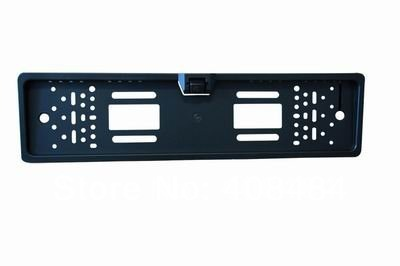 European License Plate Frame Camera Rear View Camera Reversing Backup Kit Car Back Up Camera Retail/Lot Free Shipping(China (Mainland))