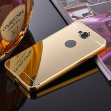 2016 Luxury Aluminum Metal + Acrylic Mirror Battery Back Cover Case for HUAWEI Honor 4C Pro Case