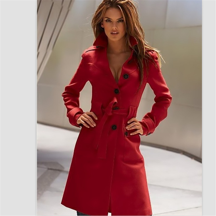 Images of Red Pea Coat Womens - Watch Out, There's a Clothes About