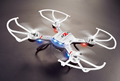 1pcs 2 4GHZ 4CH remote control radio fly cam 6 axis Gyro quadcopter with 2 mega