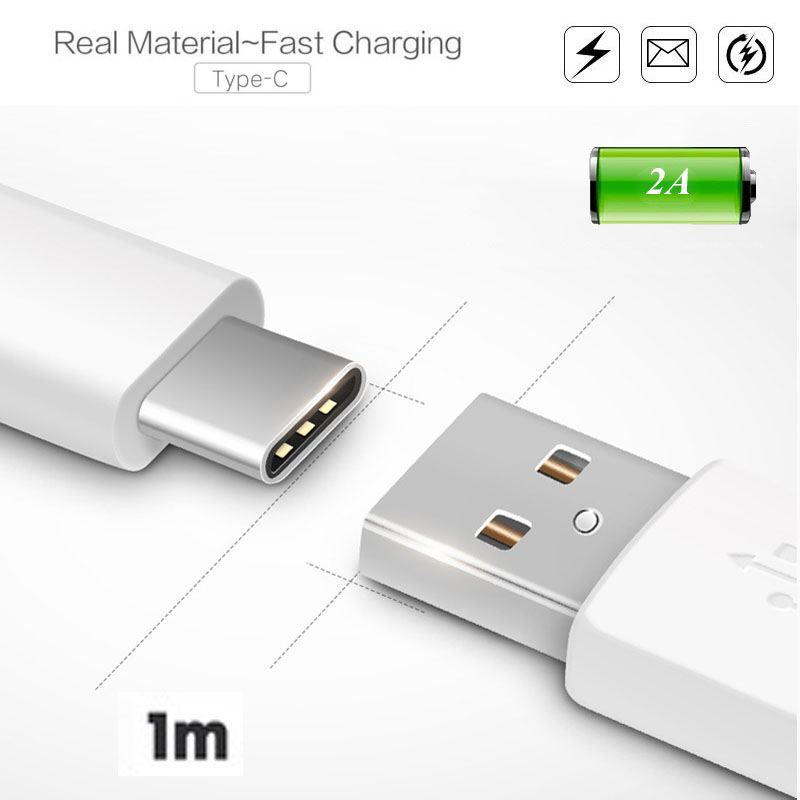 USB Type C Type-C USB-C Phone Fast Quick Charging Charger Data Cable Charge Cord For Leeco Letv le 1s/2/Max/Pro Huawei P9/Plus(China (Mainland))