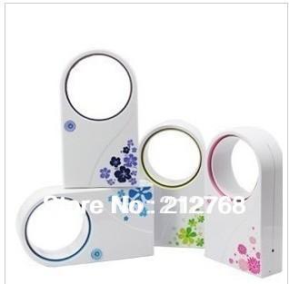 -USB FAN,Mini USB Leaf Air Condition Mini Portable Refrigeration Bladeless Fan Cable desk fan - Friendship Top On Line Store store