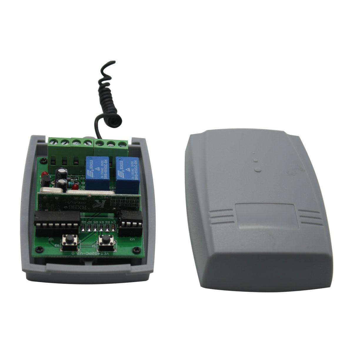 Store 20transmitters DC12V/24V 2CH wireless remote control receiver YET402pc-v2.0 - Shenzhen Yaoertai Technology Development Co., Ltd. store