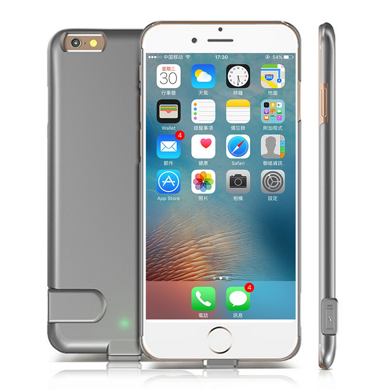 Ultra Slim Extended Power Case for 6 6s Plus Battery Case for iPhone 7 7 Plus Back Cover Battery Charging Case 1500mAh 2000mAh(China (Mainland))