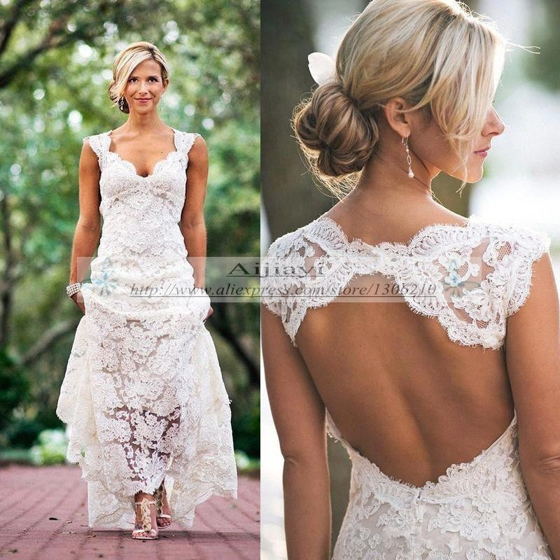 Simple Country Wedding Dresses - Gown And Dress Gallery