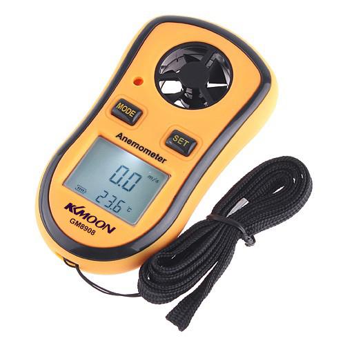 Mini Digital Wind Speed Meter Pocket Anemometer Thermometer Digital Thermometer Speed Temperature Measuring Instruments(China (Mainland))