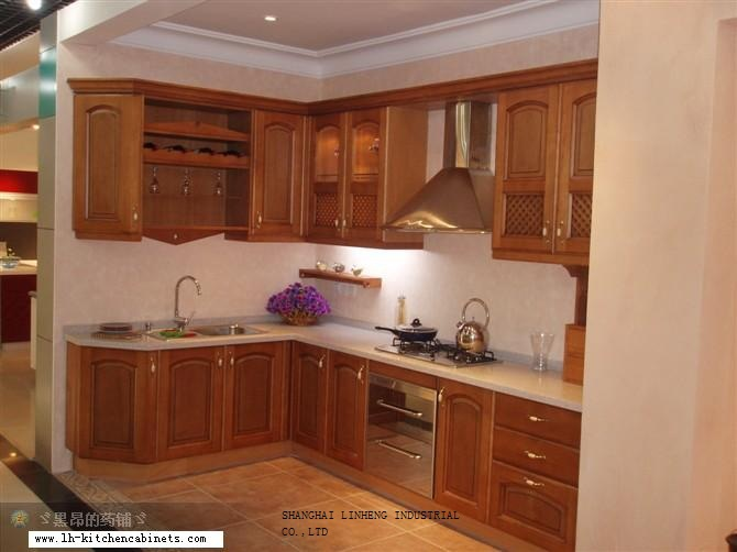 Aliexpress.com : Buy European style kitchen cabinet solid wood (LH ...