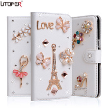 Star Diamond Case For Samsung Galaxy S3 SIII I9300 S3 Duos i9300i / S3 Neo i9301 Cover Wallet Stand Flip PU Leather Phone Bag(China (Mainland))