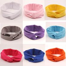 Buy 11pcs/lot Knit Hairband Turban Knot Headband Elastics Hair Band Accessories Elastic Headband Kids Girls Headwear for $15.95 in AliExpress store
