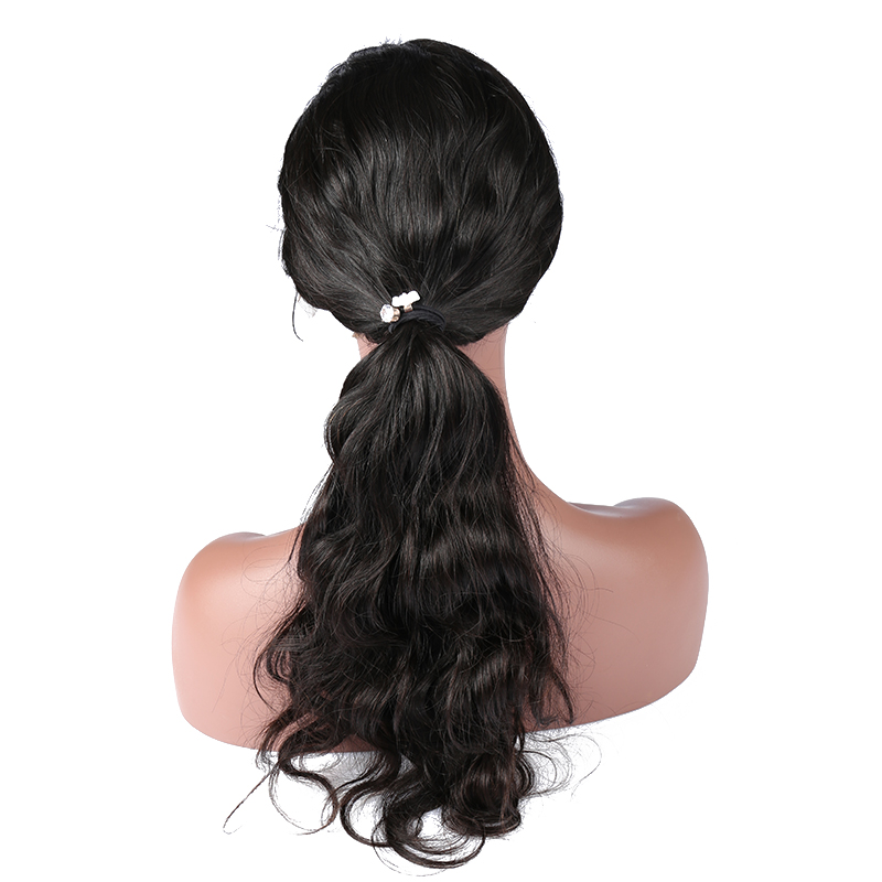 Body Wave 180% Density Full Lace Human Hair Wigs Pre Plucked Brazilian Remy Hair Honey Queen