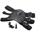 Go Pro Accessories Dog Harness Fetch Adjustable Chest Strap Mount for Xiaomi Yi GoPro HD Hero
