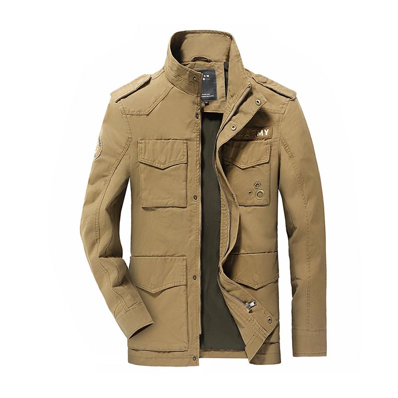 Spring jacket men coat Men jackets army coat casual jacket ...