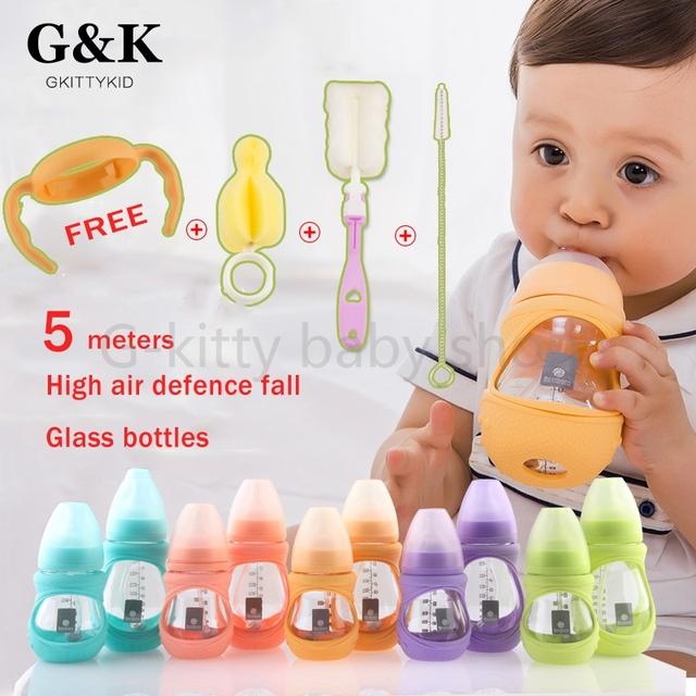 Новорожденный Детские молочные бутылки mamadeira 0-3 возраст Кормление Из Бутылочки ...