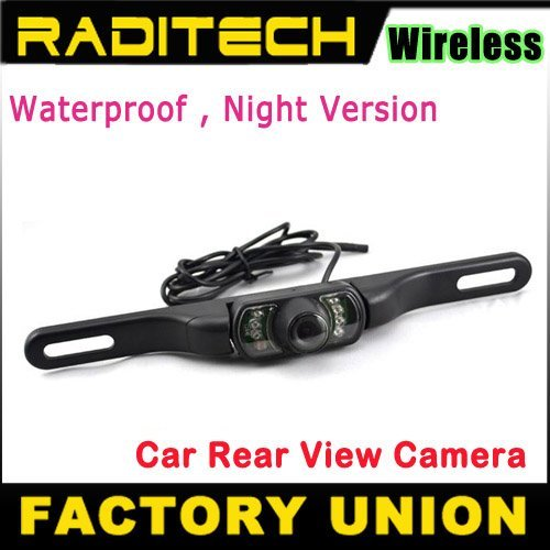 Night Vision Water Proof IR wireless Rear View Camera reverse camera