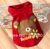 leisurely comfortable lovely pet dog vest clothes with bear pattern