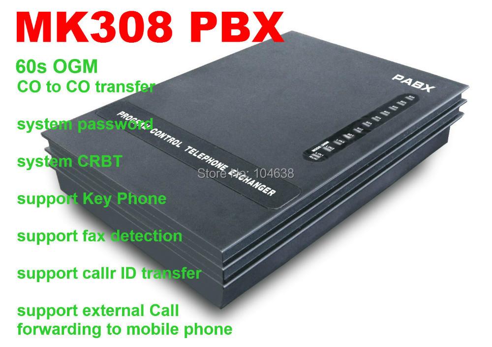 Потребительские товары VinTelecom Centralino telefonico MK308 3 esterne 8 interni bello interni шкаф etel
