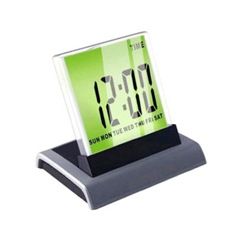 Digital Large  LCD Display LED 7 Color Changing THERMOMETER ALARM CLOCK CALENDAR