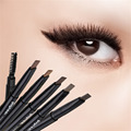 1pcs Women Ladies Waterproof Double Head Makeup Automatic Eyebrow Pencil with Eye Brows Brush Makeup Cosmetic