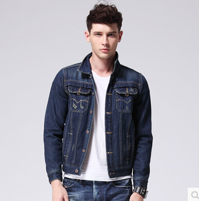 2015 new denim jacket men casual short jeans coat winter clothes men s casual jeans jacket