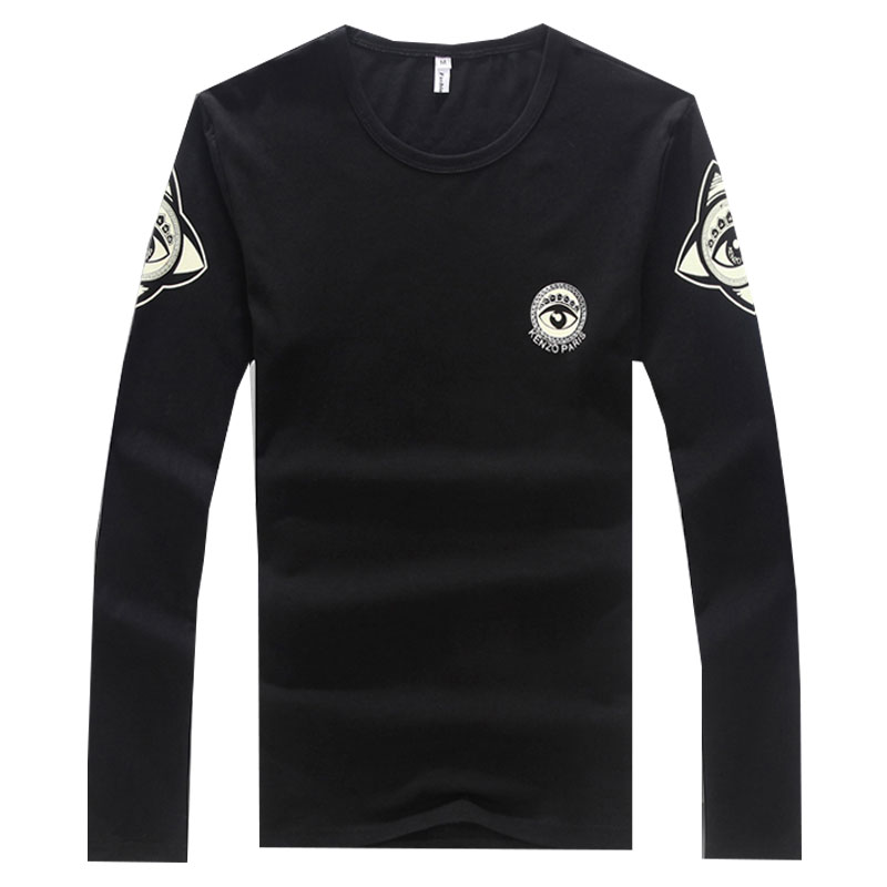2016 New Arrival Size 5xl T Shirts Men Long Sleeve Brand