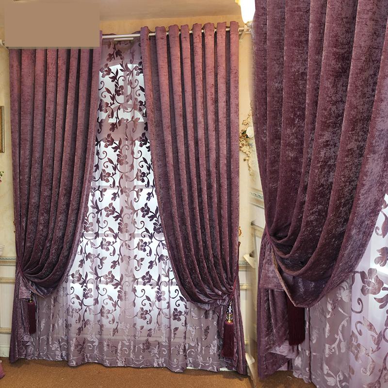 Popular Purple Velvet Curtains Buy Cheap Purple Velvet Curtains Lots From China Purple Velvet