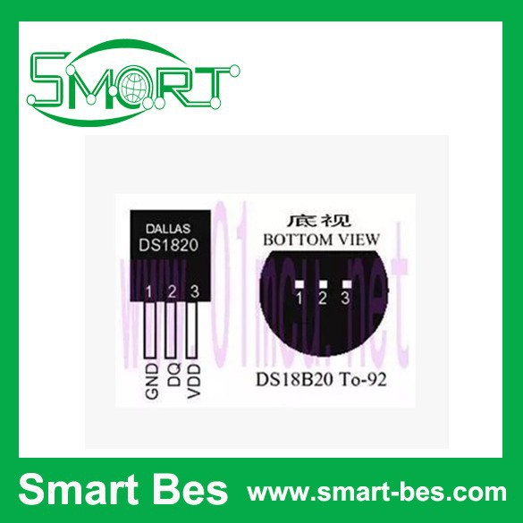 SGP 5,DS18B20 temperature sensor DS18B20 18B20 microcontroller 18b20 data collection - Shenzhen S-Mart Electronics Co., Ltd~ 24hour fast shipping~ store