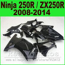 Buy Glossy black OEM Kawasaki Ninja 250r Fairings kit EX250 2008 2014 year model ZX 250 08 09 10 11 12 13 14 fairing kits R8L7 for $339.48 in AliExpress store