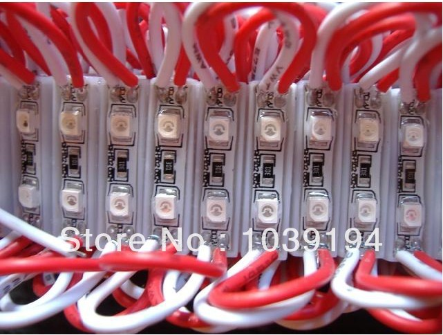 red small  LED Module 2 LEDs SMD3528 super bright Waterproof Light Strip DC 12V Waterproof IP68 Character Module Free Ship<br><br>Aliexpress