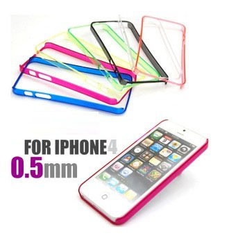 Best Sellers New 2014 Transparent Bumper Cell Phone Cases for iPhone 4 4S Case + Only To USA Drop shipping(China (Mainland))
