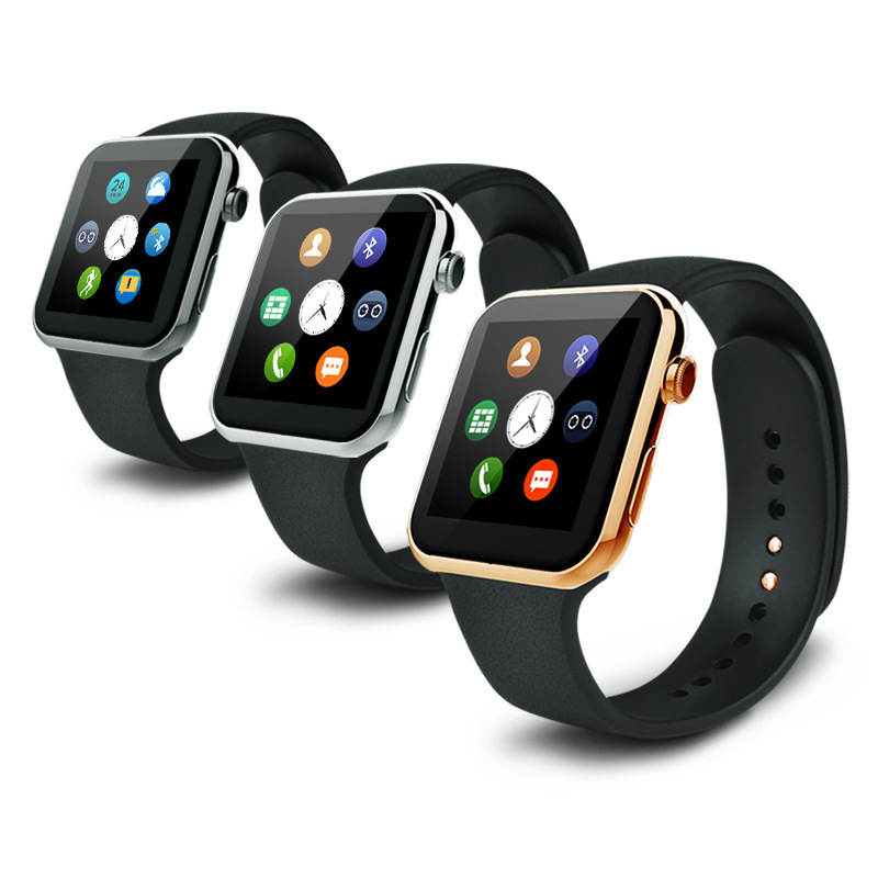 IOS Watch smart A9 three colors smart watch 2015 for iOS and android smart phone smart fitness watch(China (Mainland))