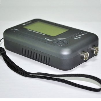 Free Shipping! Sathero SH-200+ Digital Satellite Finder support DVB S Display NIT value with battery